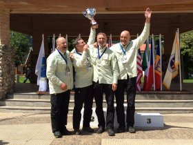 2nd place, World Maters Fly-fishing Championship 2014, Chile. Czech team gained silver medals.
