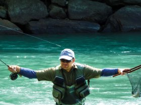Roman Heimlich, 3rd place in World Fly Fishing Championship 2011, Italy