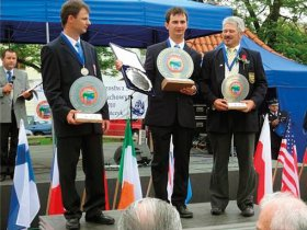 Tomáš Adam, 2nd place in the World Championship 2010, Poland and 3rd in Slovenia 2012. Pavel Chyba, World Champion 2010, Poland and European Champion 2009, Ireland