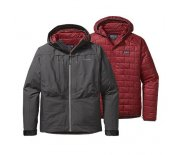Bunda Patagonia River Salt 3in1 Jacket